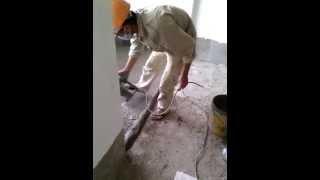 waterproof toilet floor