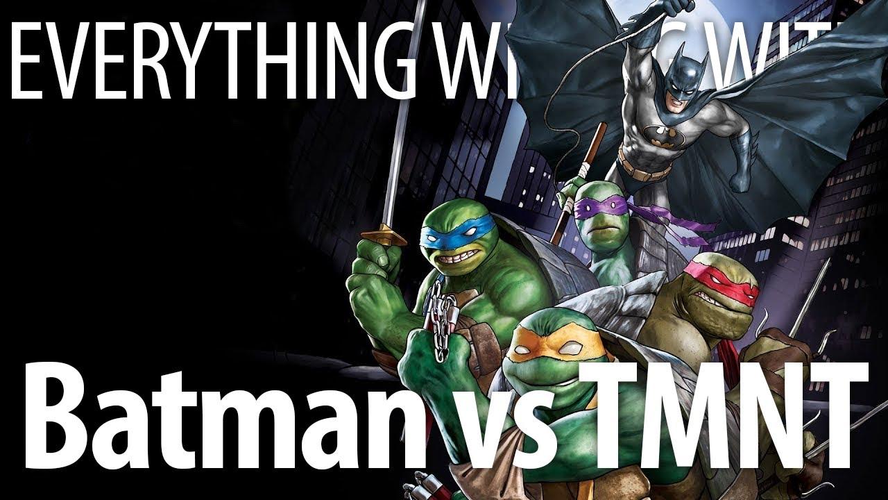 Download Everything Wrong With Batman vs Teenage Mutant Ninja Turtles