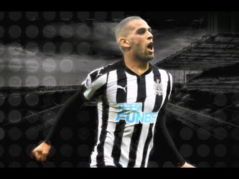 Islam Slimani - Welcome to Newcastle United - Skills and Goals