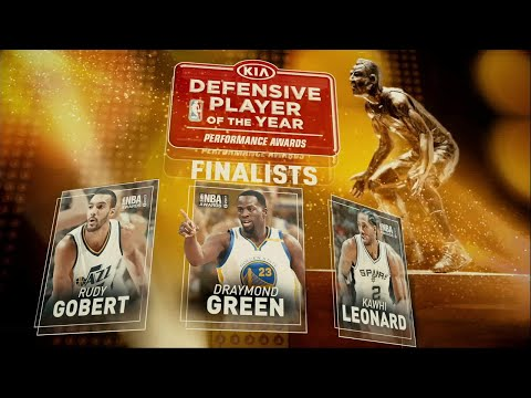 2017 NBA Awards: Defensive Player of the Year Award Finalists