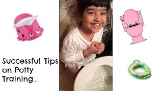 HOW TO POTTY TRAIN YOUR TODDLER!