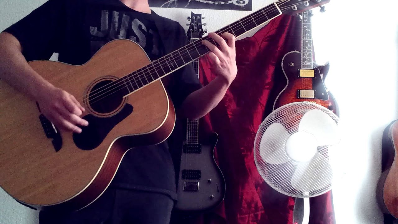 my new alvarez abt60e baritone acoustic guitar percussive playing