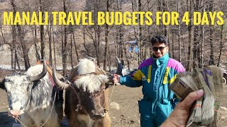 Manali Trip Budget For Couples and Family