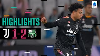 Juventus 1-2 Sassuolo | McKennie Goal Not Enough as I Neroverdi Win It Late | Serie A Highlights