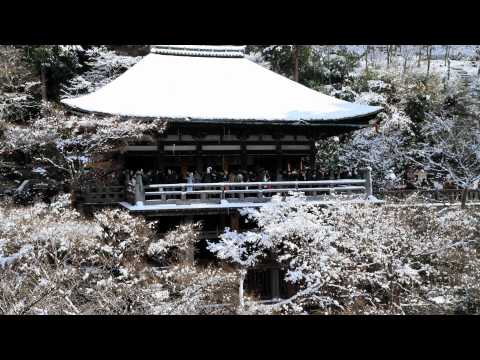 The four seasons in Kyoto(Japan), Winter【四季の京都、冬】