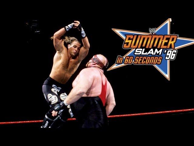 SummerSlam in 60 Seconds: SummerSlam 1996