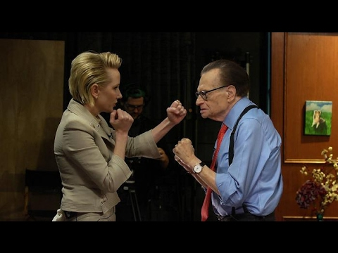 Why's Anne Heche punching Larry King during an interview? | Larry King Now | Ora.TV
