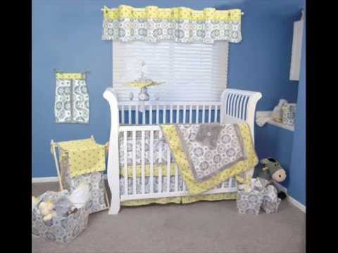 Trend Lab 4 Piece Crib Bedding Set ; Baby Bedding And Decor, Baby Bedding Collections