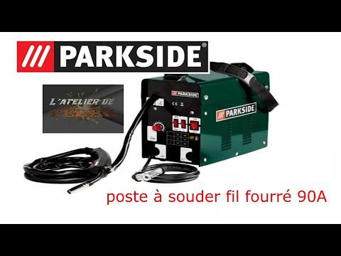 Poste à Souder  Fil Fourré Parkside 90A