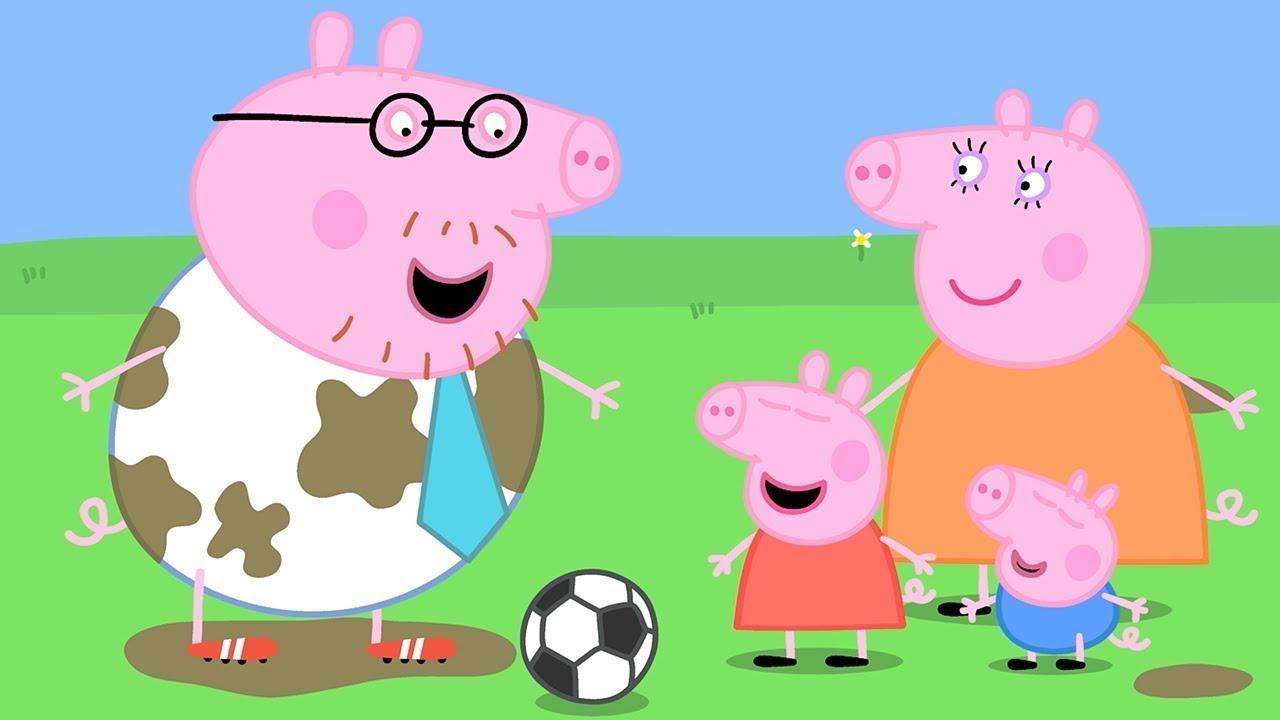 Peppa Pig en Español Episodios completos Los Deportes con Daddy Pig  | Pepa la cerdita