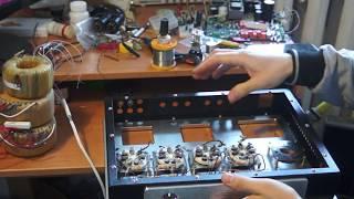 Концепция лампового усилителя 6П3С