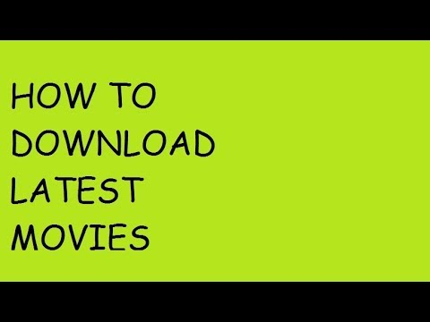 how to download latest movie