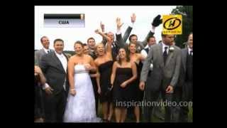 Невеста и жених проломили мост в США, видео, 06.2012