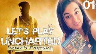 [LET'S PLAY] [FR] UNCHARTED DRAKE'S FORTUNE - #01 ON COMMENCE LA GRANDE AVENTURE !