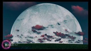 Alien UFO Over Blood Moon Eclipse Filmed In 4K Ultra HD: Eclipse 2018: Red Super Blue Blood Luna