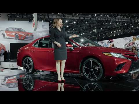 Toyota Camry, Camry Hybrid report -2017 North American International Auto Show-