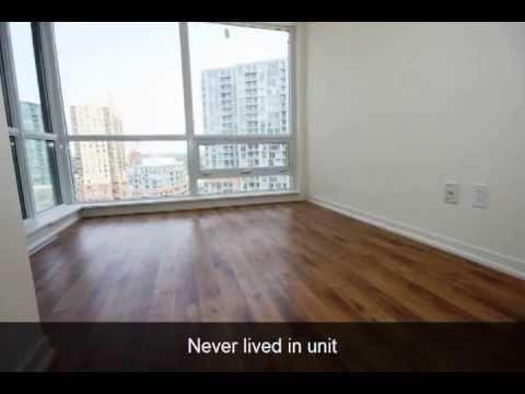 1 Bedroom Condo For Rent 20 Joe Shuster Way Toronto West Youtube