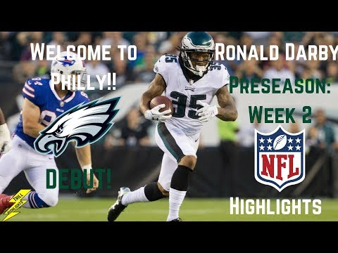 Ronald Darby || Full Player Highlights || Welcome To Philly! || 8/17/2017
