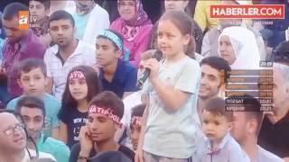 küçük kızın nihat hatipoğlu na sorusu herkesi duygulandirdi
