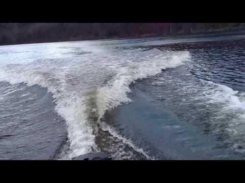 98 Boston Whaler Dauntless 13 2002 yamaha 40 horse 2 stroke test run