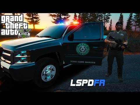 GTA 5 LSPDFR - Texas Game Warden - Animal Rescue!
