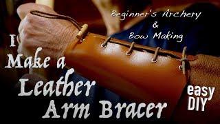 Arm Guard Leather Archery Bow New Traditional Arm Guard- Bear Archery