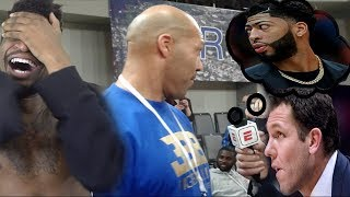 LAVAR CALLS AD A LOSER! DEMANDS LONZO TRADE & BLAMES LUKE WALTON FOR EVERYTHING!
