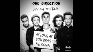 One Direction   Justin Bieber  As Long As You Drag Me Down Mashup