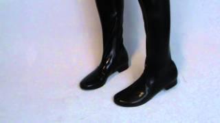 Boots-leggings-pants-natural latex-new solution 37-47