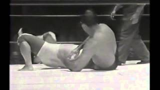 Lou Thesz vs. Mr. Moto - 1962 - L.A. Olympic Auditorium