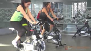 Спиннинг – эффективная тренировка на велотренажере