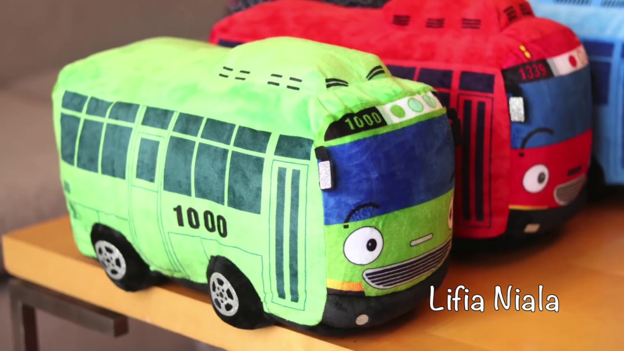 Children Toys Dolls Tayo The Little Bus
