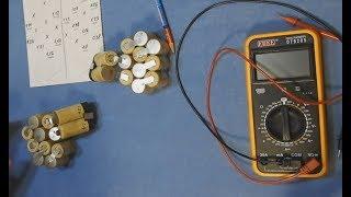 Ni-Cd sizning qo'lingiz bilan screwdriver dan batareya to'plami / Batareya ta'mirlash / Ta'mirlash