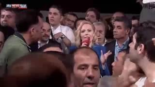 المذيعة التي أعلنت نجاح الإنقلاب وفشله