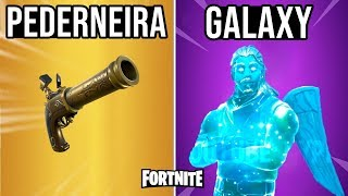 FORTNITE-PEDERNEIRA PISTOL AND NEW SKIN GALAXY?