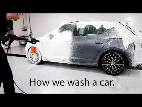 Maintenance Detail | How We Wash A Car