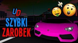 JAK ŁATWO ZAROBIĆ w ULTIMATE DRIVING (Roblox)