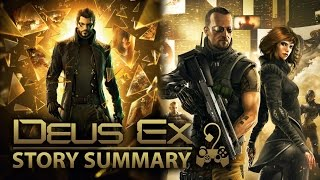 Mankind Divided the highly anticipated Deus Ex title is nearly here Catch up on the story of the previous two Deus Ex games before you jump into the latest