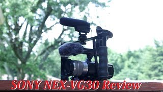 Sony NEX-VG30 Handycam Professional Camcorder Camera Review and Tests