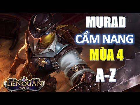 Murad mùa 4 không thay đổi và cẩm nang Murad từ A-Z cho sát thủ auto bị cấm trong đấu hạng