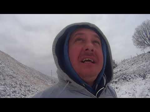 Short walk around cymer in the snow . Part one