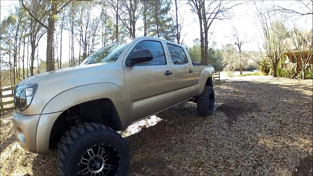 "Lifted Toyota Tacoma >> 20"" xd riots and mudgrapplers on lifted tacoma - YouTube"