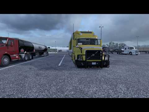 (ATS V 1.33) SCS Volvo VNL 780 Custom Parts And Upgrades By Axelrol (me), SCS