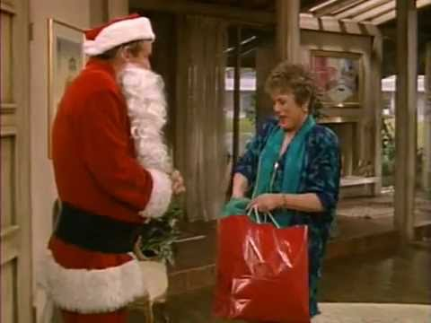 the golden girls blanche and santa
