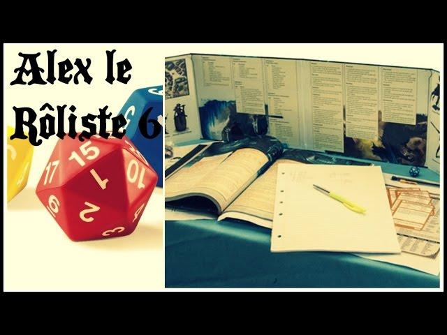 Alex le Rôliste 6 : Trucs pour Maître de jeu débutant!