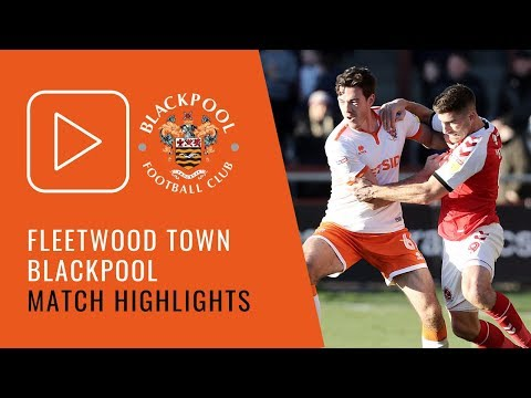 Highlights | Fleetwood Town 3 Blackpool 2