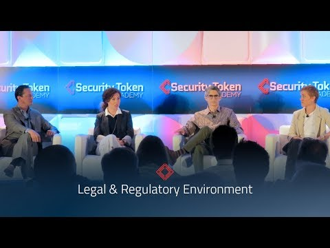 Security Token Summit: Legal & Regulation Environment Panel