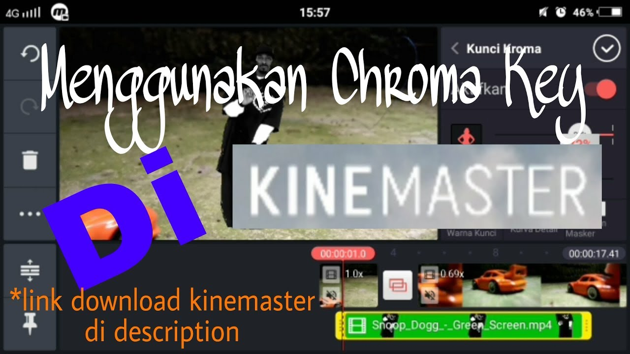 Cara Menggunakan Chroma Key Di Kinemaster Android (Link Kinemaster Apk di  description)