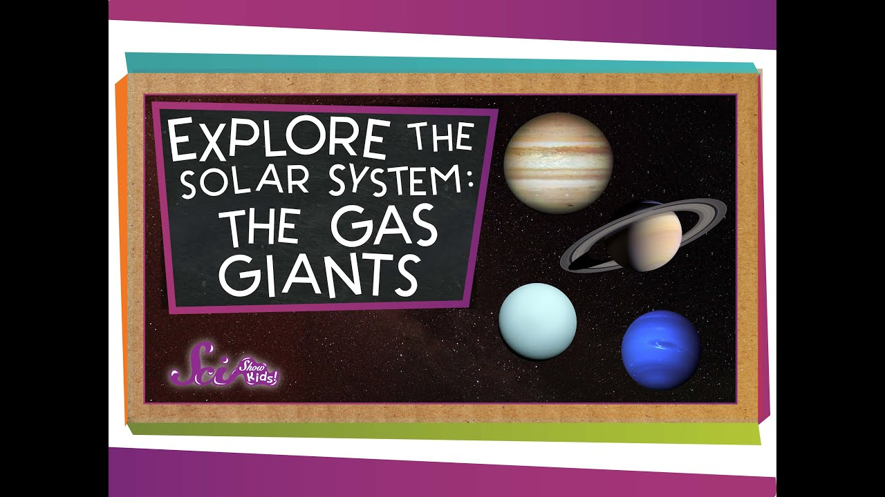 Explore The Solar System The Gas Giants