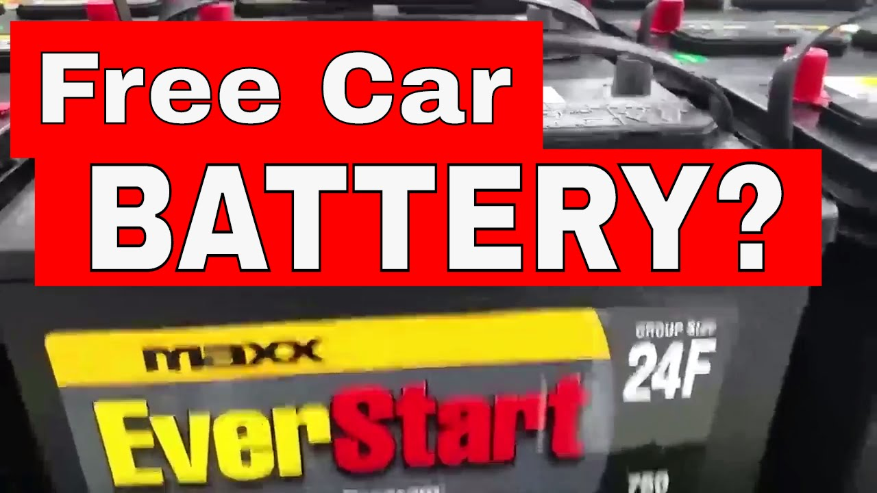 Used Car Batteries Near Me >> Don T Buy A Car Battery Until You Watch This How A Car Battery Warranty Works